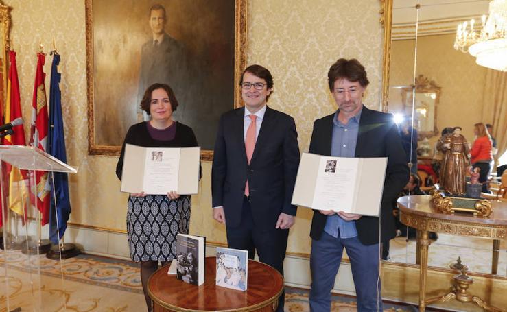 Entrega de los premios de novela y poesía Ciudad de Salamanca