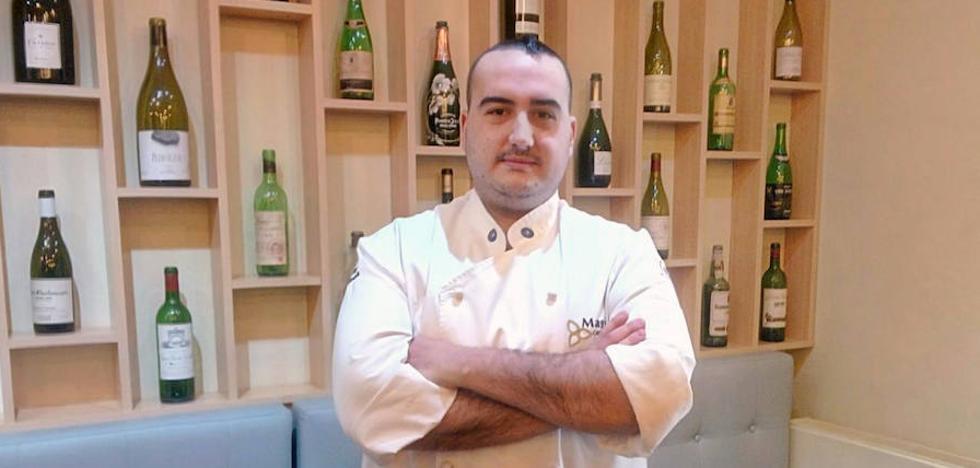 El segoviano Borja Sanz, de Venta Magullo, aspira a ser el mejor repostero del país