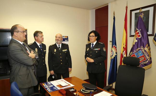 La nueva comisaria de Palencia se marca como reto la protección de los colectivos más vulnerables