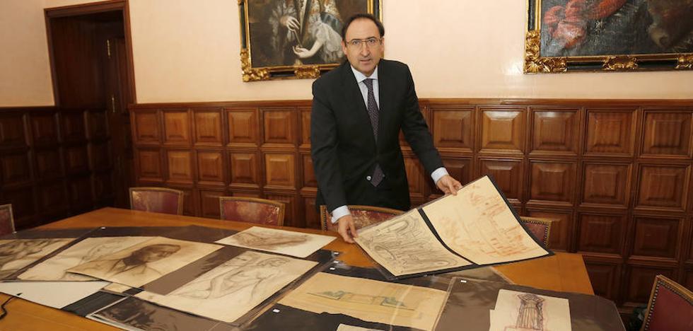 Los dibujos de Victorio Macho llegan a Palencia