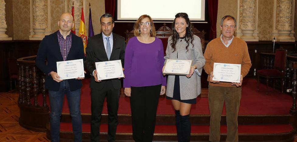 Palencia entrega los Premios de Periodismo Mariano del Mazo
