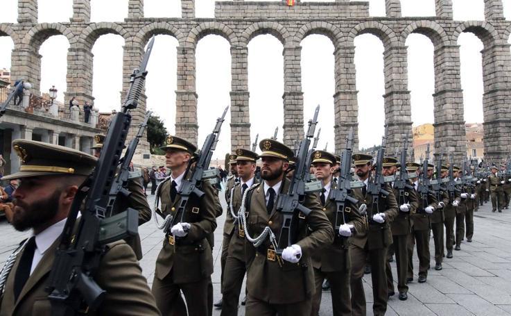 Los artilleros de Segovia celebran la fiesta de Santa Bárbara