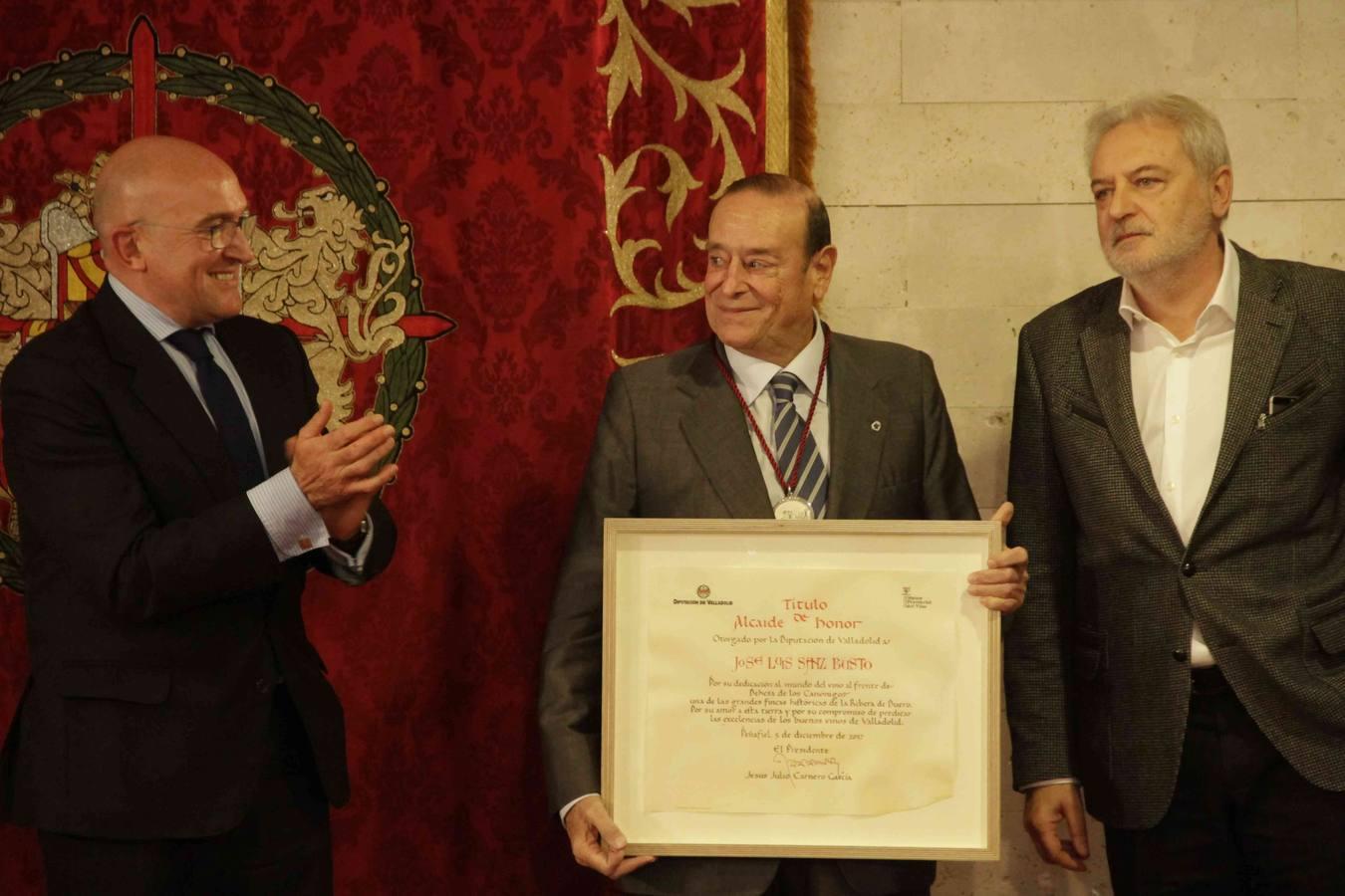 José Luis Bonet, Ruth Beitia y José Luis Sanz Bustos, nuevos Alcaides de Honor del Museo Provincial del Vino 2017
