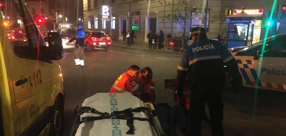 Herido grave un varón de unos 60 años al ser atropellado en Valladolid