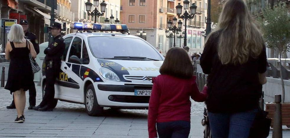 La Policía Nacional detiene en Segovia a una mujer por la agresión a una agente