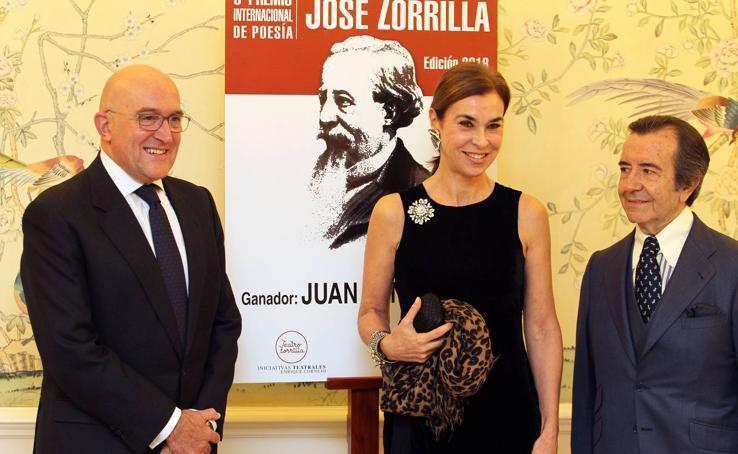 Presentación en Madrid del V Premio Internacional de Poesía José Zorrilla