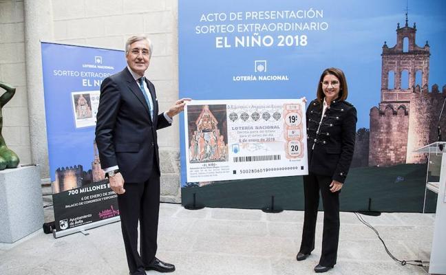 Ávila acogerá el Sorteo de El Niño con motivo del Año Jubilar Teresiano