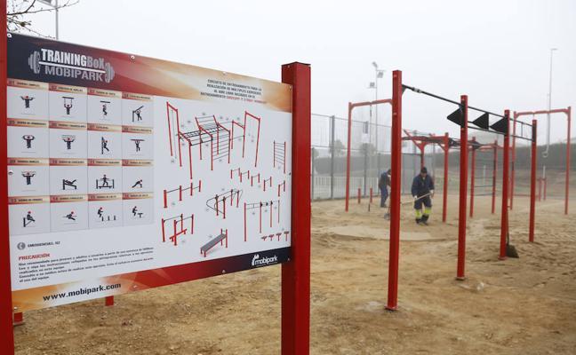 El municipio estrena el primer parque para entrenamiento al aire libre de la provincia