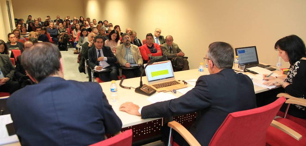Los abogados elegirán entre Julián Sanz y Juan Luis Figueredo a su nuevo decano