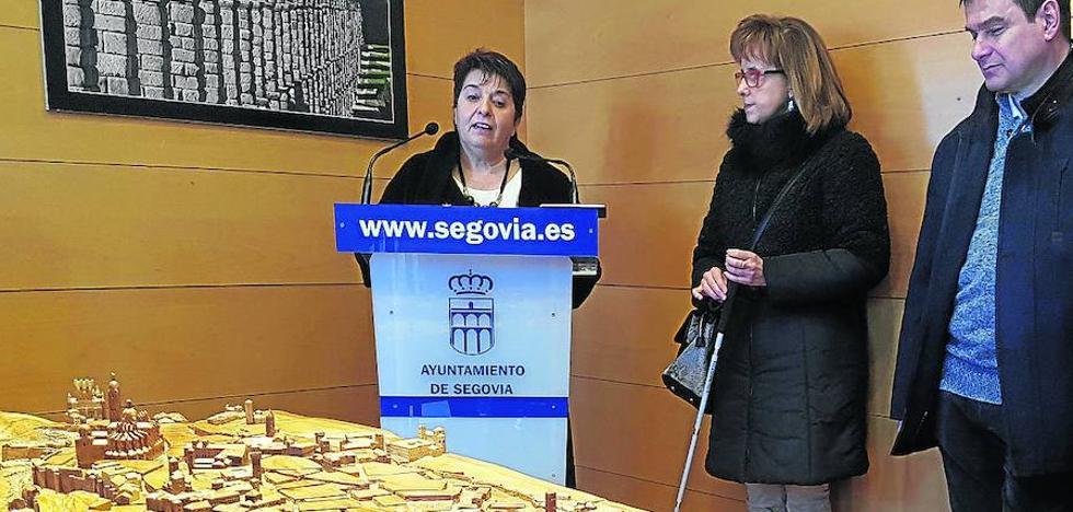 Segovia es monumental, también al tacto