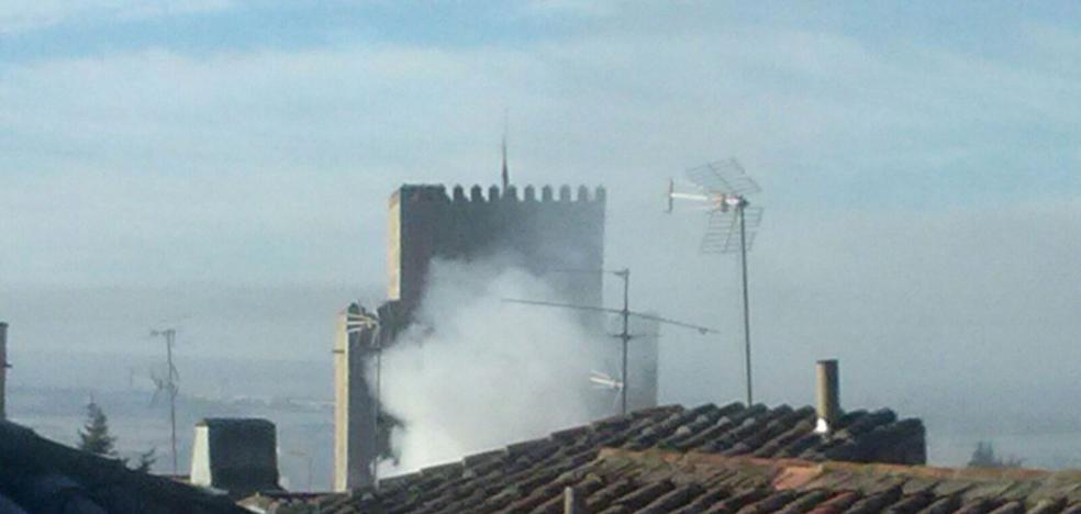 Alarma por un incendio en una vivienda en el centro de Ciudad Rodrigo