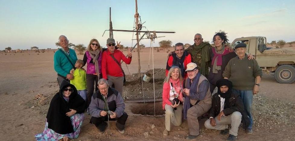 Palencia supervisa las ayudas a los refugiados saharauis