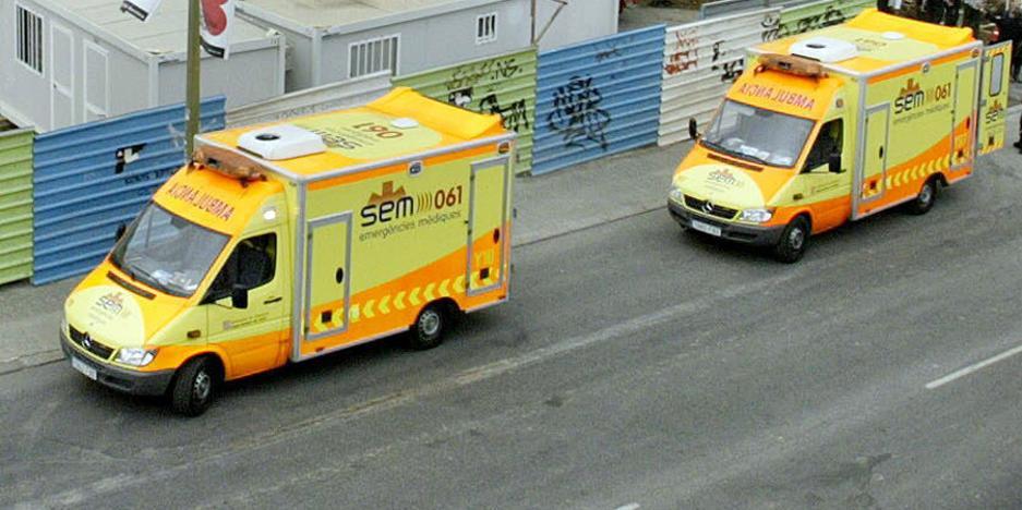 Muere un niño de 12 años en Barcelona tras caer mal en clase de Educación Física