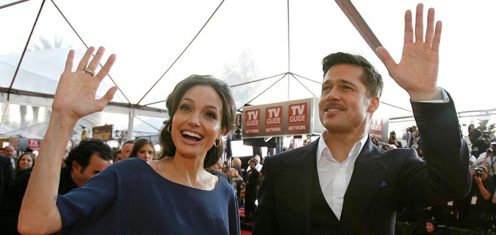 Angelina Jolie compartió cartel con su marido en una película para intentar salvar el matrimonio