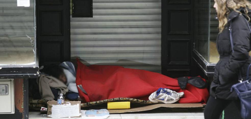 Cáritas activa el protocolo de ola de frío para proteger a las personas que viven en la calle