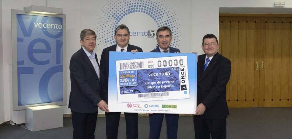 El cupón de la ONCE protagonizado por Vocento reparte 105.000 euros en Traspinedo