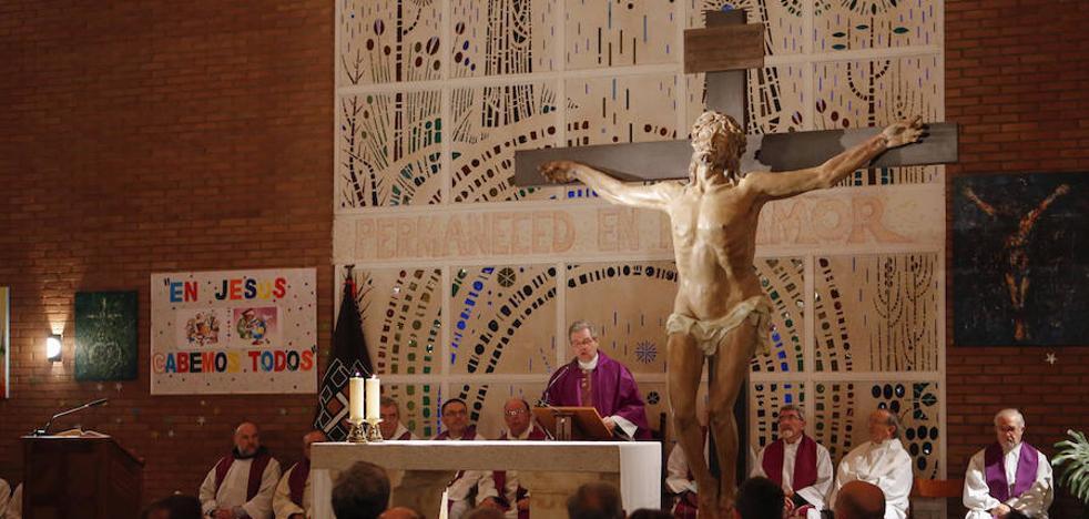 El rostro de Jesucristo cobra vida bajo la advocación de la Humildad