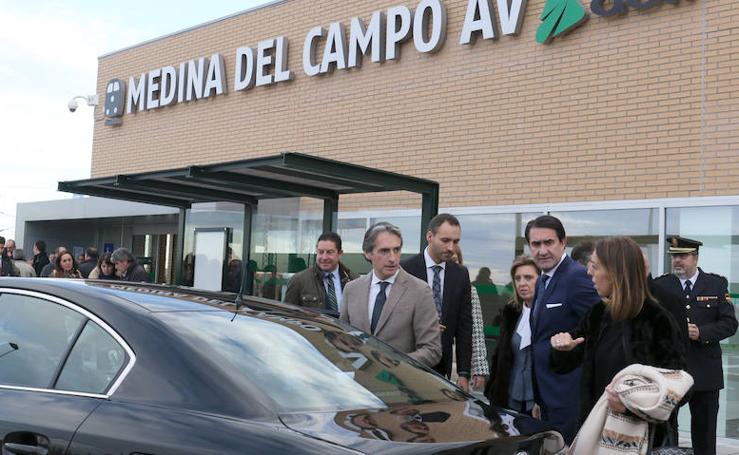 Inauguración de la estación de Alta Velocidad en Medina del Campo