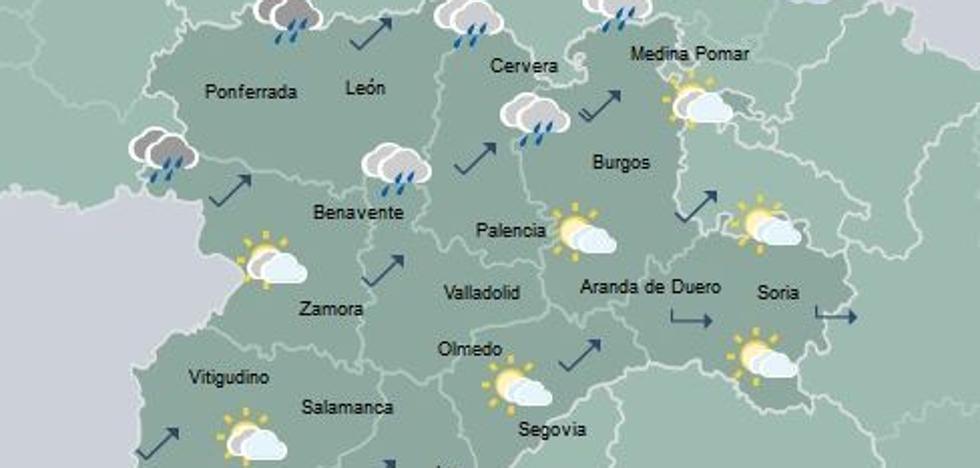 El frío da una pequeña tregua a Castilla y León