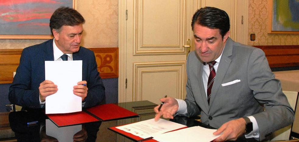 Junta y Diputación sellan el plan de infraestructuras turísticas