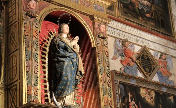Visita al interior de la Catedral de Segovia
