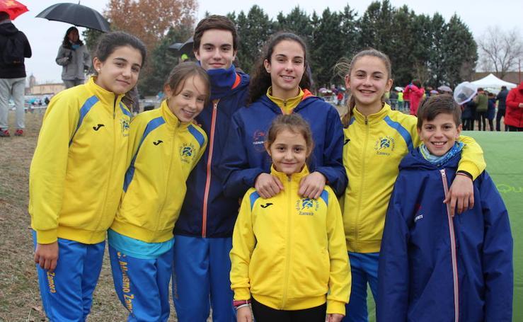 Participantes en el cross de Cantimpalos