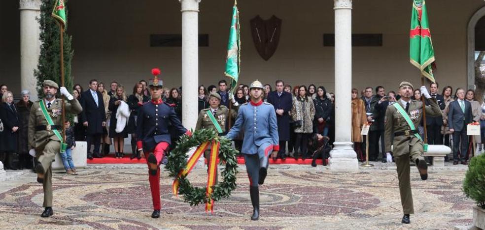 El arma de Infantería festeja a su patrona con el recuerdo a los soldados de Flandes