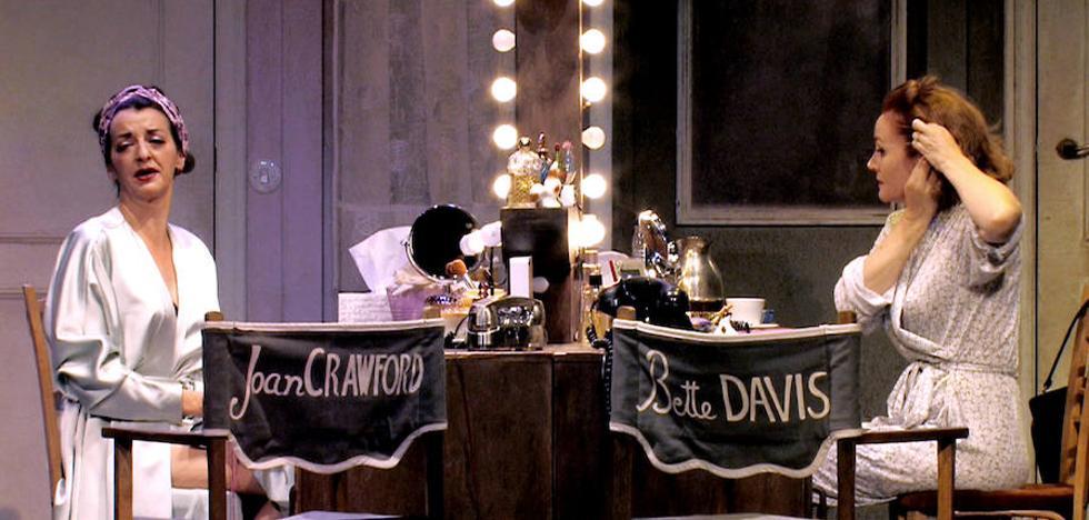 Las divas Joan Crawford y Bette Davies 'se pelean' en el Juan Bravo