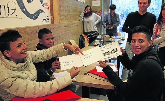 Valladolid se convierte en la primera parada en el sueño cumplido de tres jóvenes con cáncer