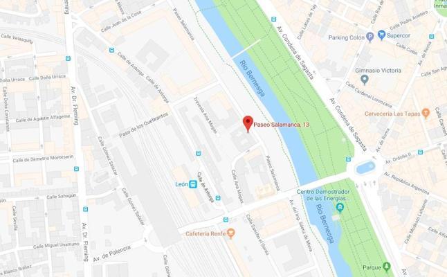 Herida una niña de 14 años tras sufrir un atropello en León