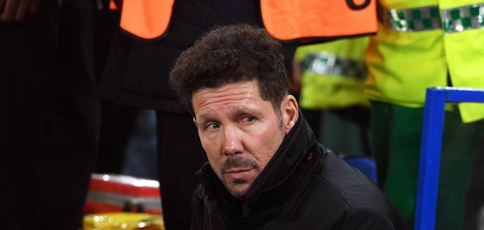 Simeone: «Lautaro tiene mucho futuro y un presente muy bueno»
