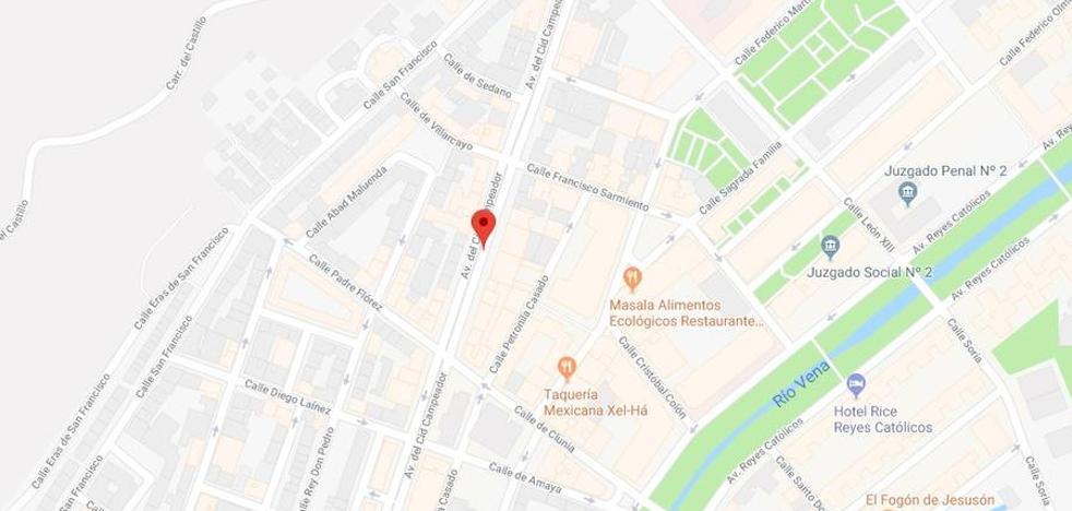 Cuatro intoxicados en una vivienda de la avenida del Cid Campeador de Burgos