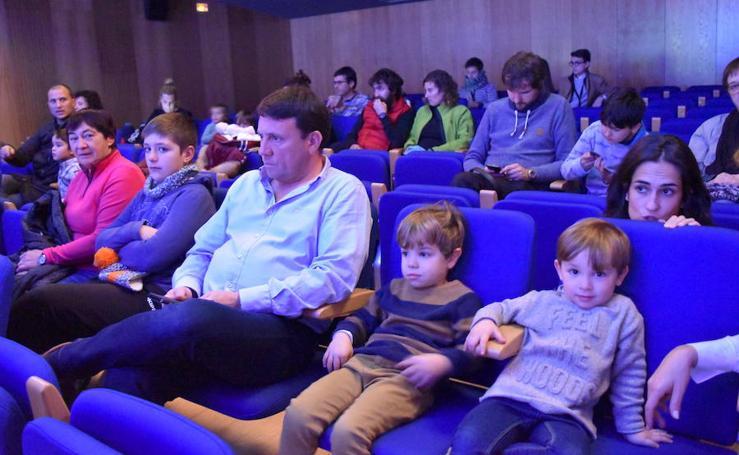 También hay cine para los más pequeños en el festival aguilarense
