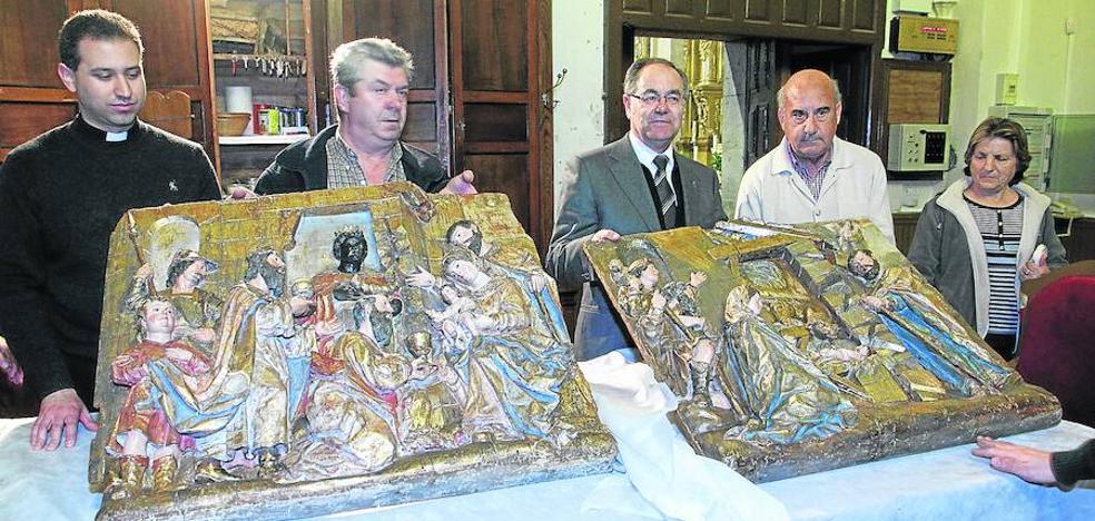 La Diócesis recupera en la última década doce obras robadas en iglesias
