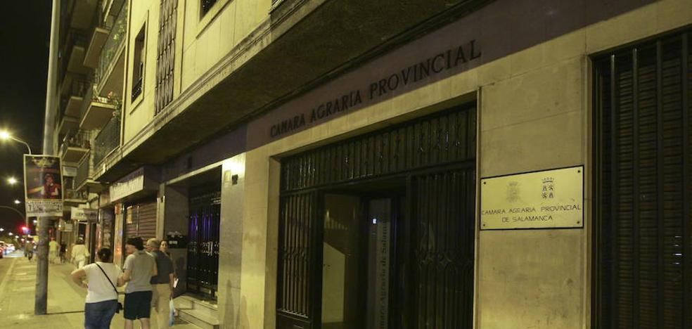 La sede de la Cámara Agraria saldrá a subasta el día 13 con un precio de salida de 821.000 euros