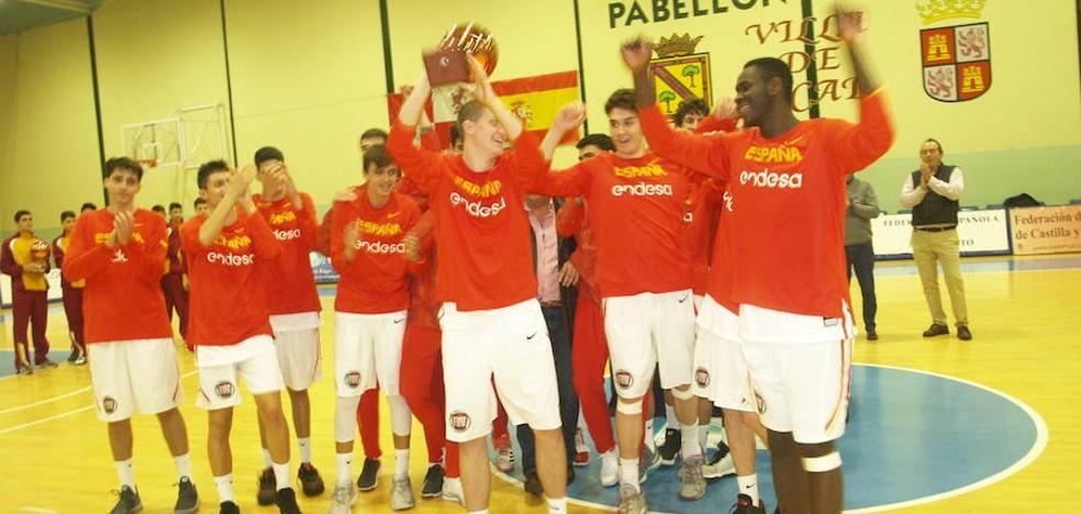 España arrolla a Turquía en el torneo cadete de Íscar