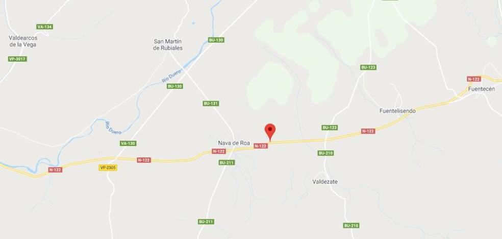 Seis personas heridas en un accidente de tráfico en Vadocondes