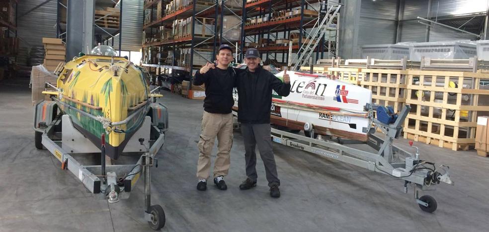 Ramón Gutiérrez y la gran aventura de cruzar el Atlántico a remo