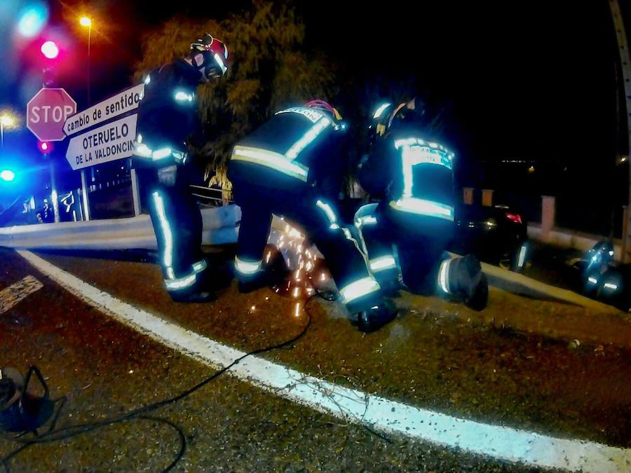 Grave accidente en Oteruelo