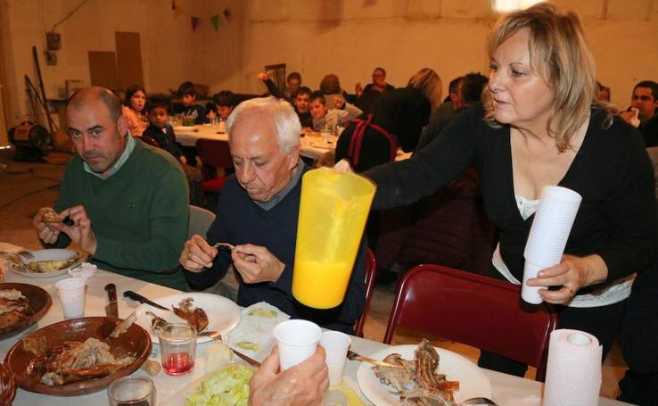 Hérmedes de Cerrato celebra Santa Bárbara