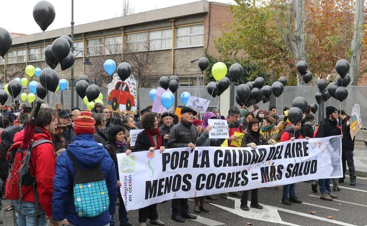 Ecologistas en Acción se manifiesta en el centro de Valladolid