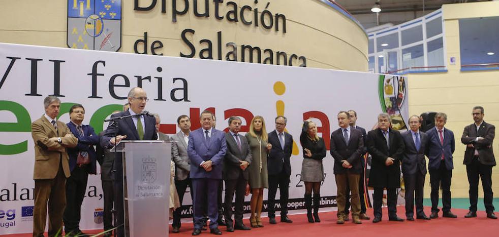 Salamanca y Cova da Beira despliegan su poder agroalimentario en el Recinto Ferial