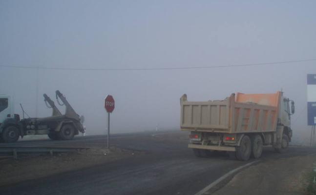 La niebla complica la circulación en siete tramos de carreteras en Ávila, León y Zamora