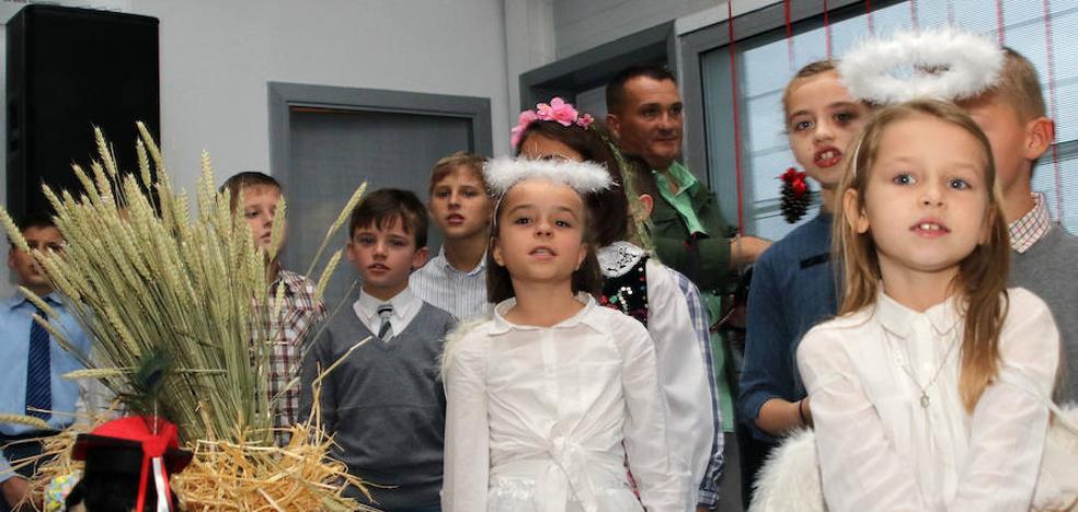 La comunidad polaca en Segovia celebra su Nochebuena