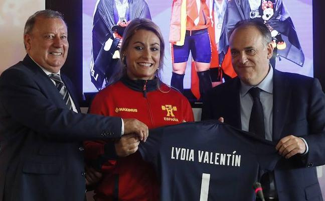 Lydia Valentín: «Este oro pasará a la historia»