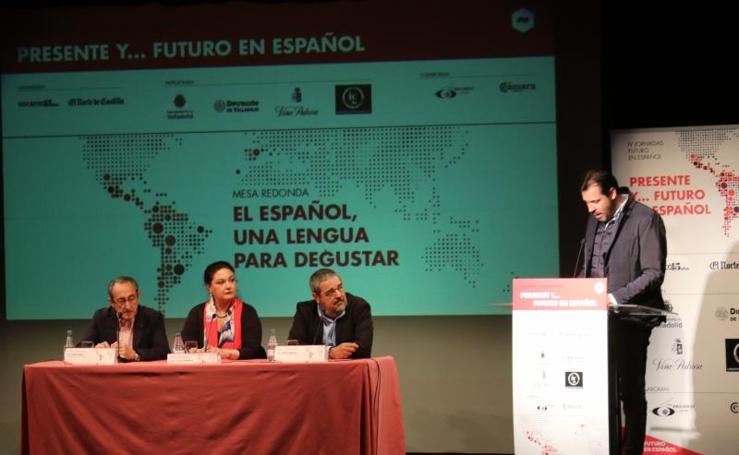 Primera sesión de las IV Jornadas Futuro en Español