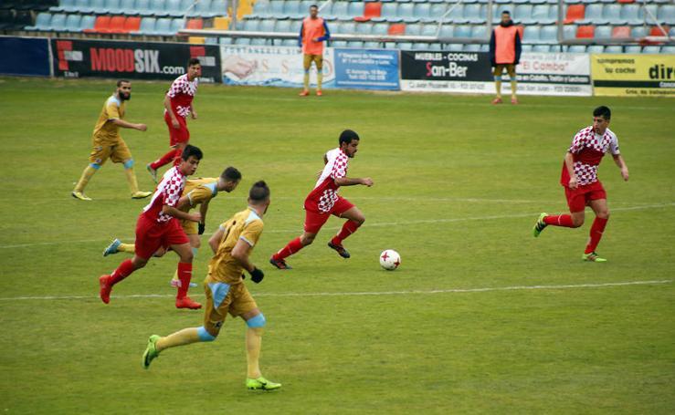 Partido de la selección de Castilla y León de fútbol ante Melilla