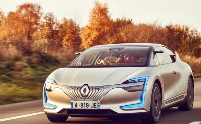 Renault presenta su versión de carretera de coche eléctrico y autónomo