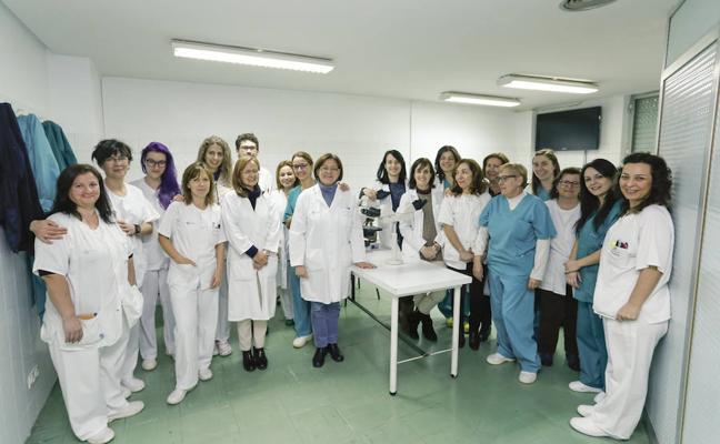 El Banco de Tumores del hospital guarda 29.300 muestras de 5.600 pacientes