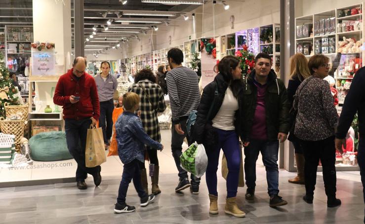 Domingo de compras en Valladolid